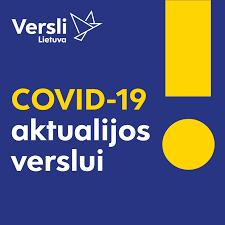 "Rubrika ""COVID-19 aktualijos verslui"""