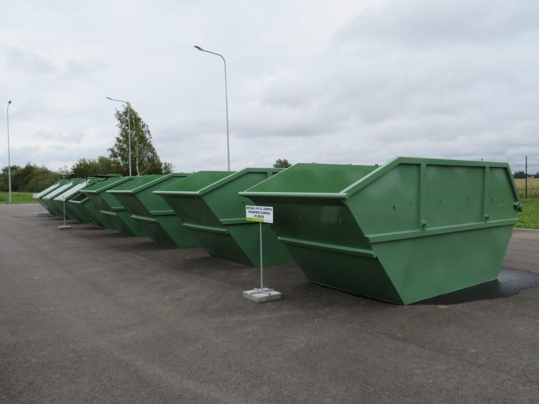 Dėl didelių gabaritų atliekų surikimo aikštelių ir biologiškai skaidžių atliekų surinkimo aikštelių darbo karantino sąlygomis