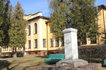 Atsinaujinančių energijos šaltinių diegimas Rokiškio J. Tumo-Vaižganto gimnazijoje (M. Riomerio g. 1, Rokiškis)