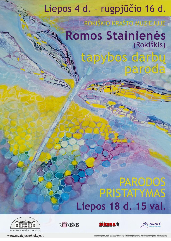 Romos Stainienės (Rokiškis) tapybos darbų paroda