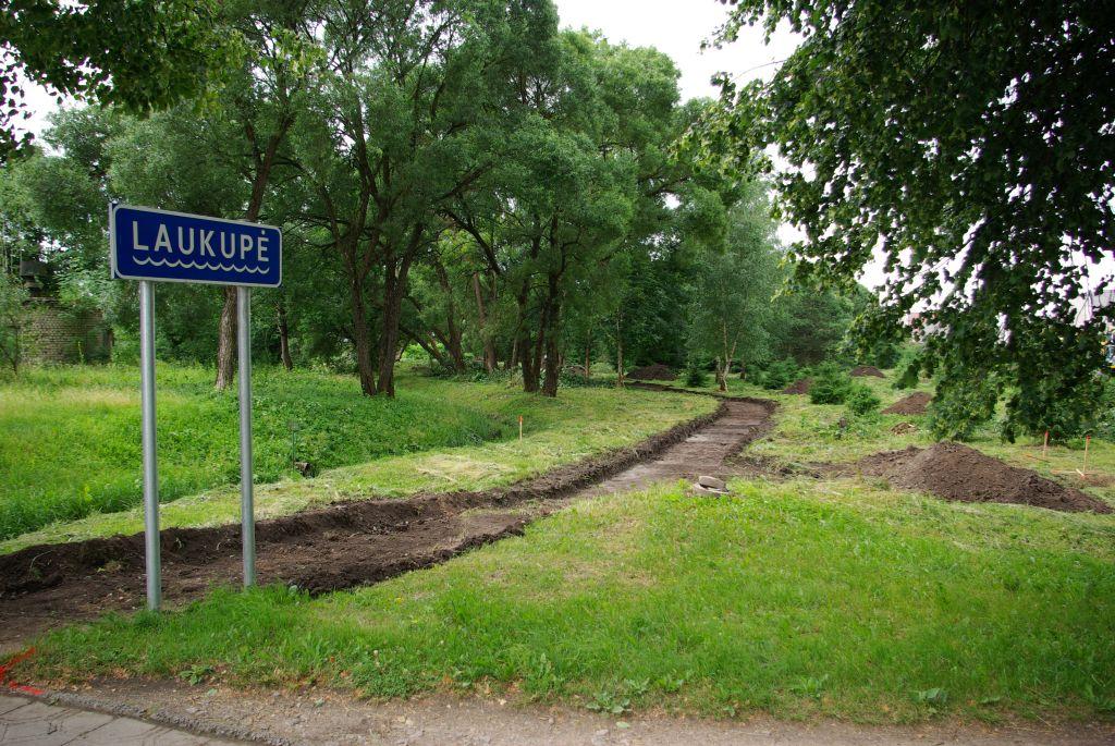 Rokiškio miesto  teritorijų kraštovaizdžio formavimas ir ekologinės būklės gerinimas