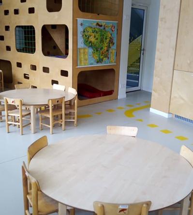 """Rokiškio l/d """"Pumpurėlis"""" pastato vidaus patalpų ir ugdymo aplinkos modernizavimas"""