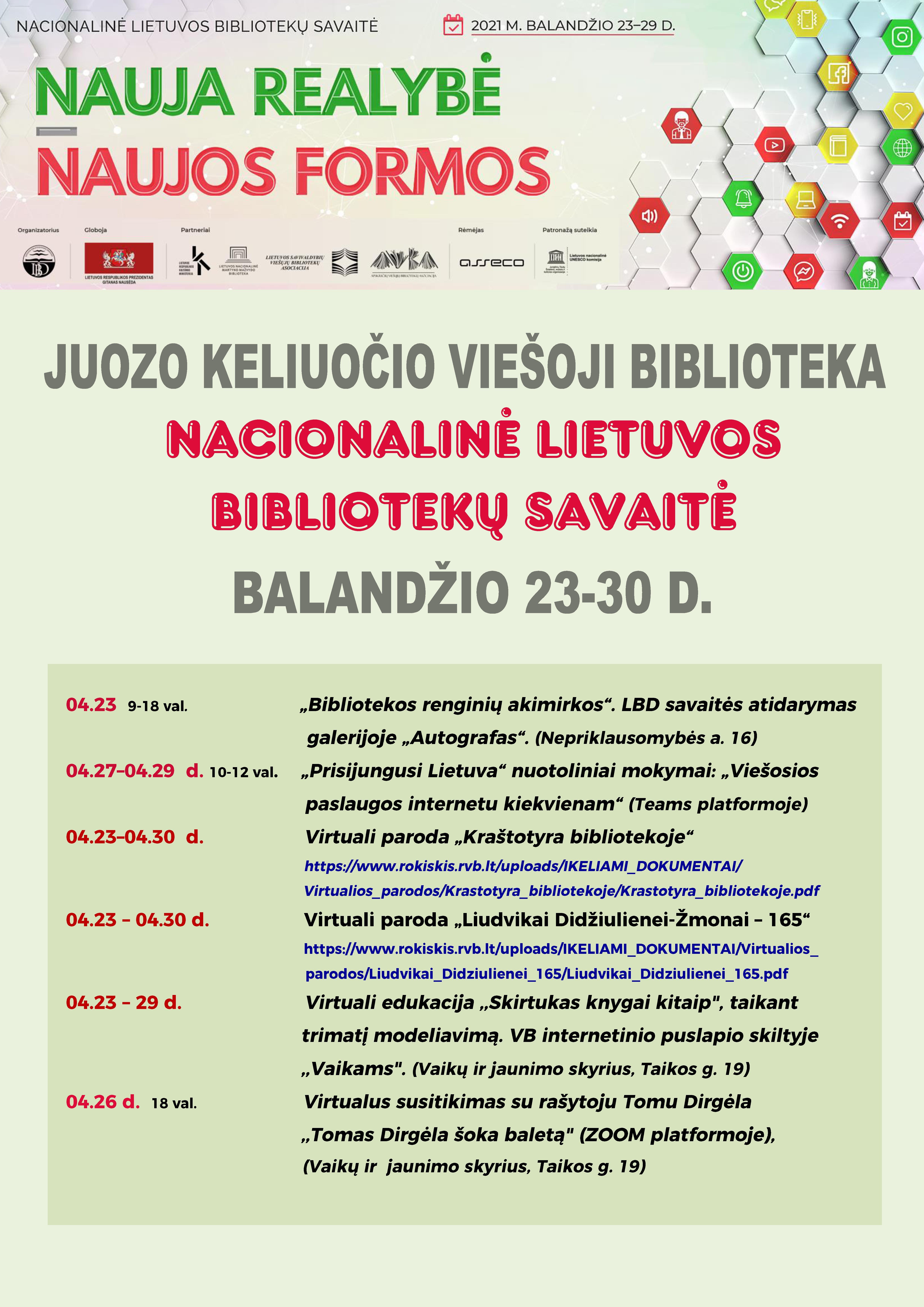 Nacionalinė Lietuvos bibliotekų savaitė