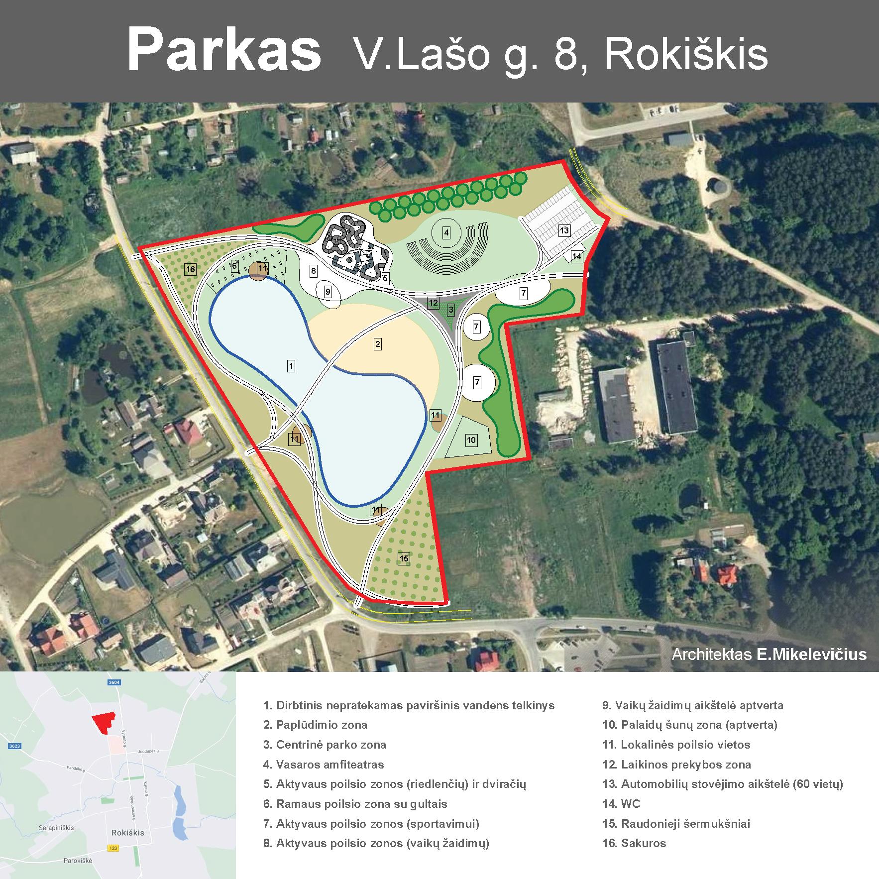 """Rokiškio rajono meras: """"Kurkime parką visi kartu – diskutuojant ir dalinantis idėjomis!"""""""