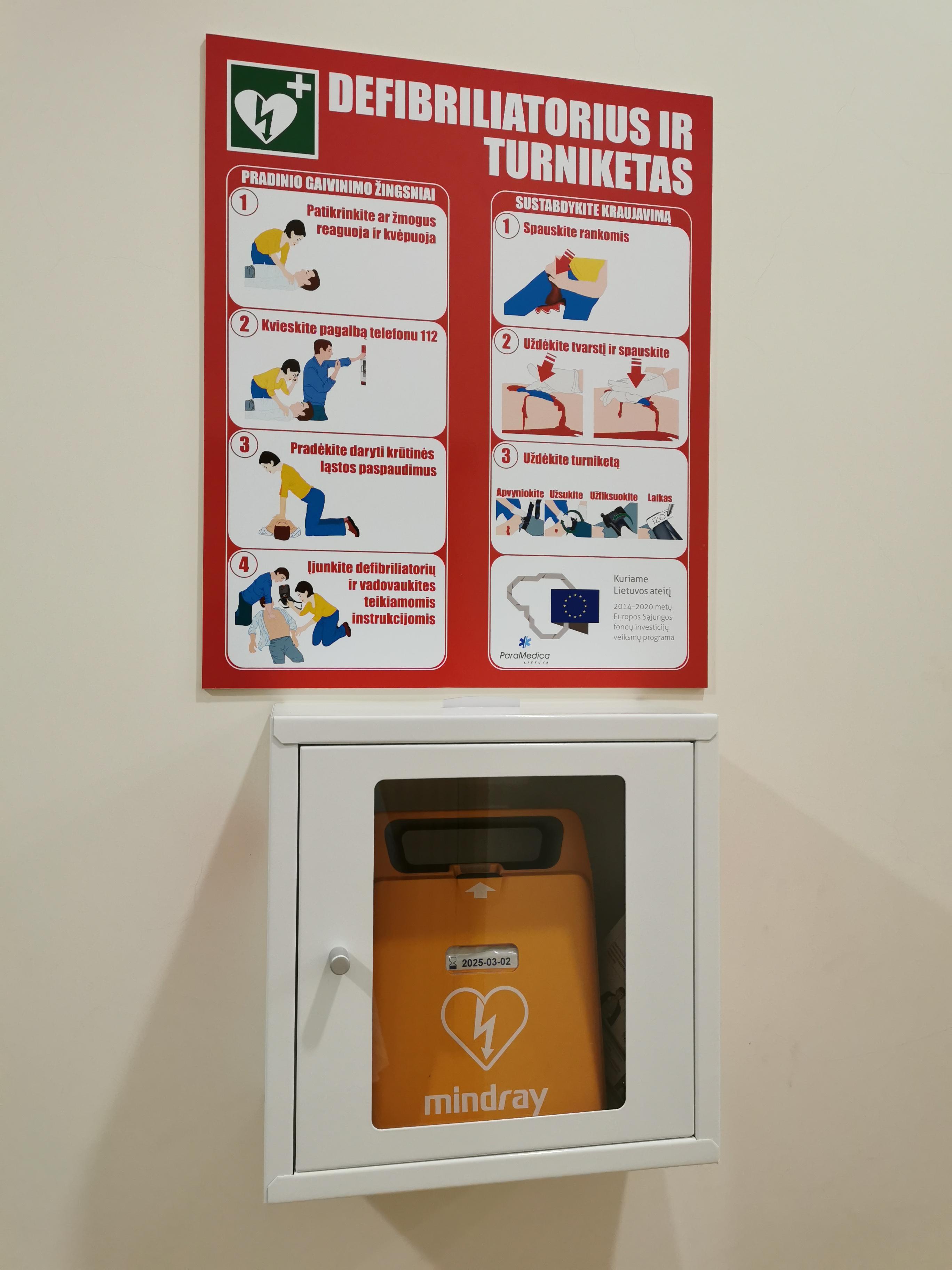 Rokiškio rajono savivaldybėje – 4 defibriliatoriai