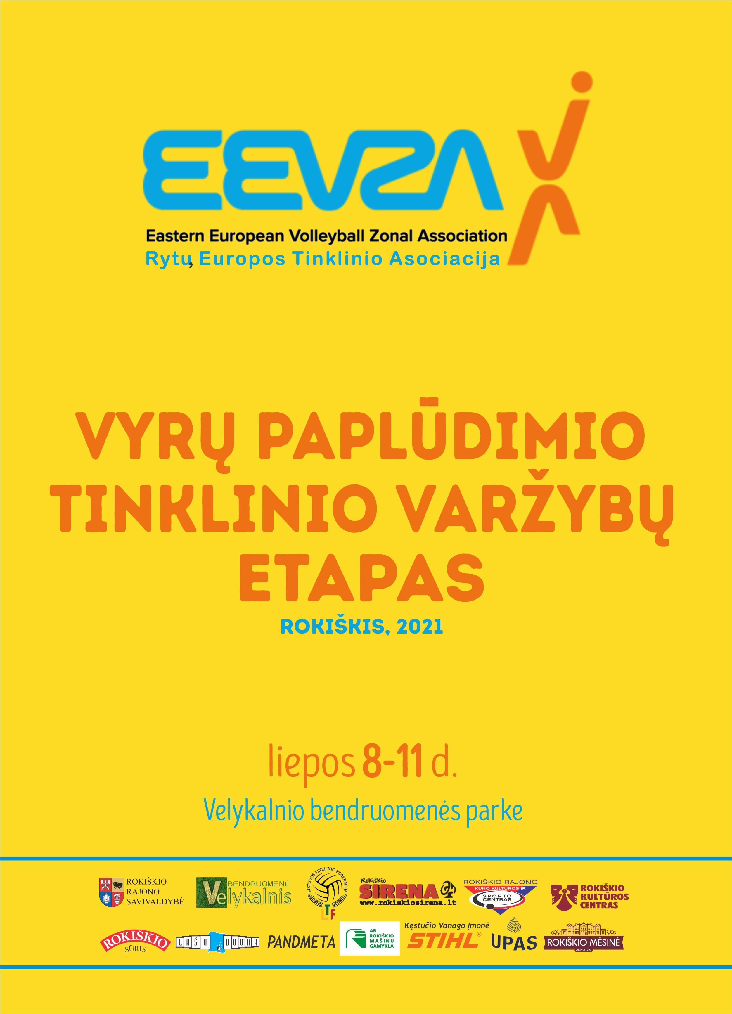 2021 EEVZA VYRŲ PAPLŪDIMIO TINKLINIO ČEMPIONATO ETAPAS, ROKIŠKIS