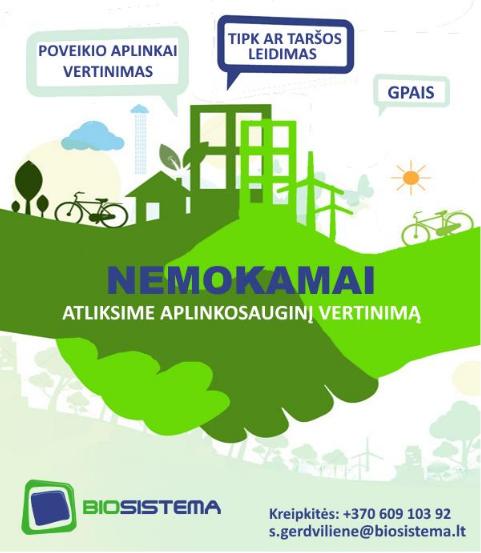 Informacija Rokiškio rajono įmonėms