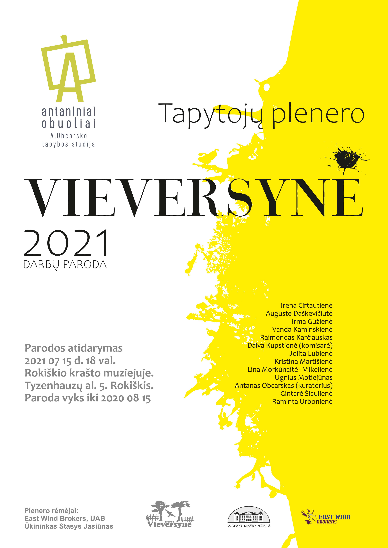 Plenero VIEVERSYNĖ 2021 darbų paroda