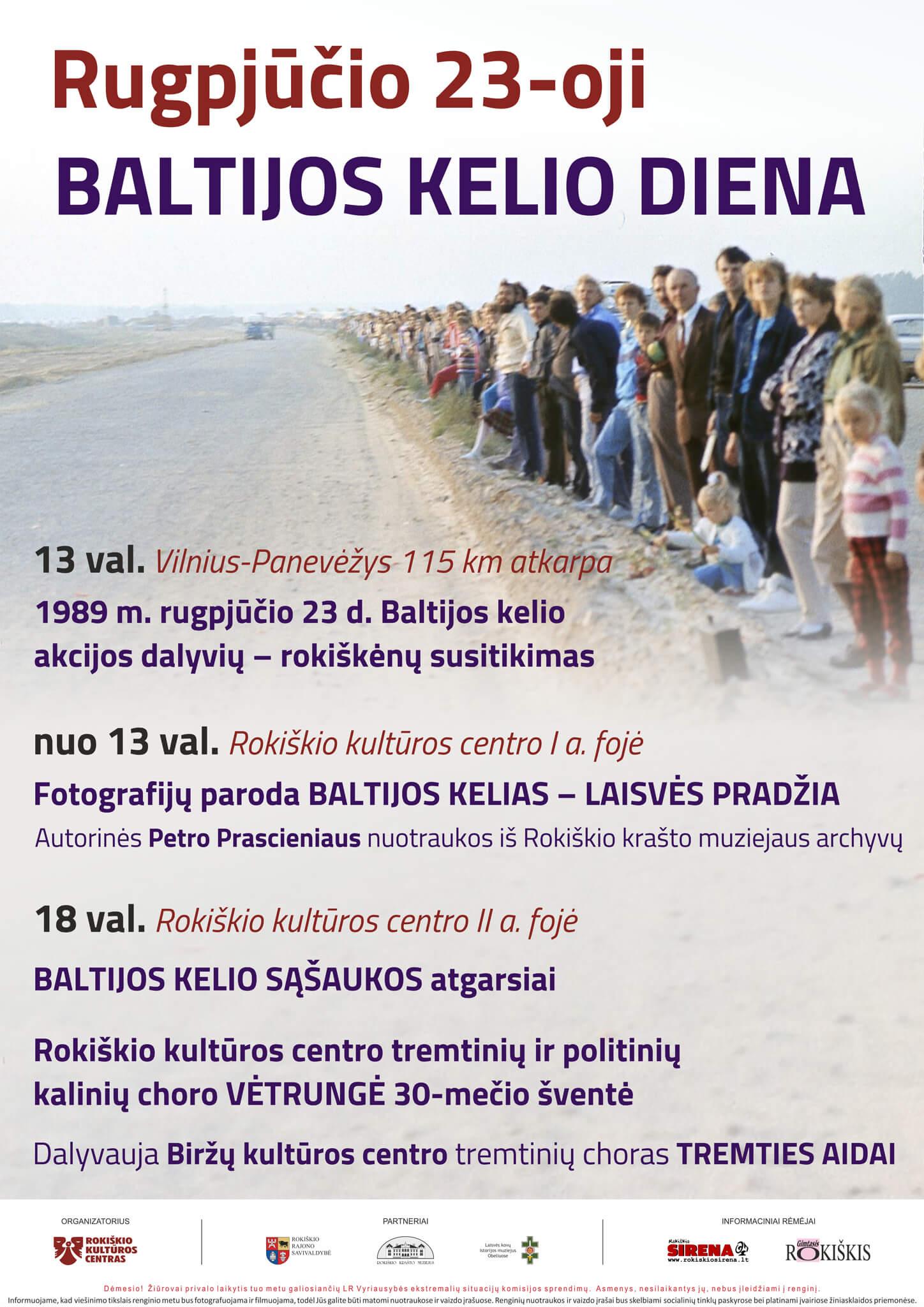 Rugpūčio 23-oji – Baltijos kelio diena