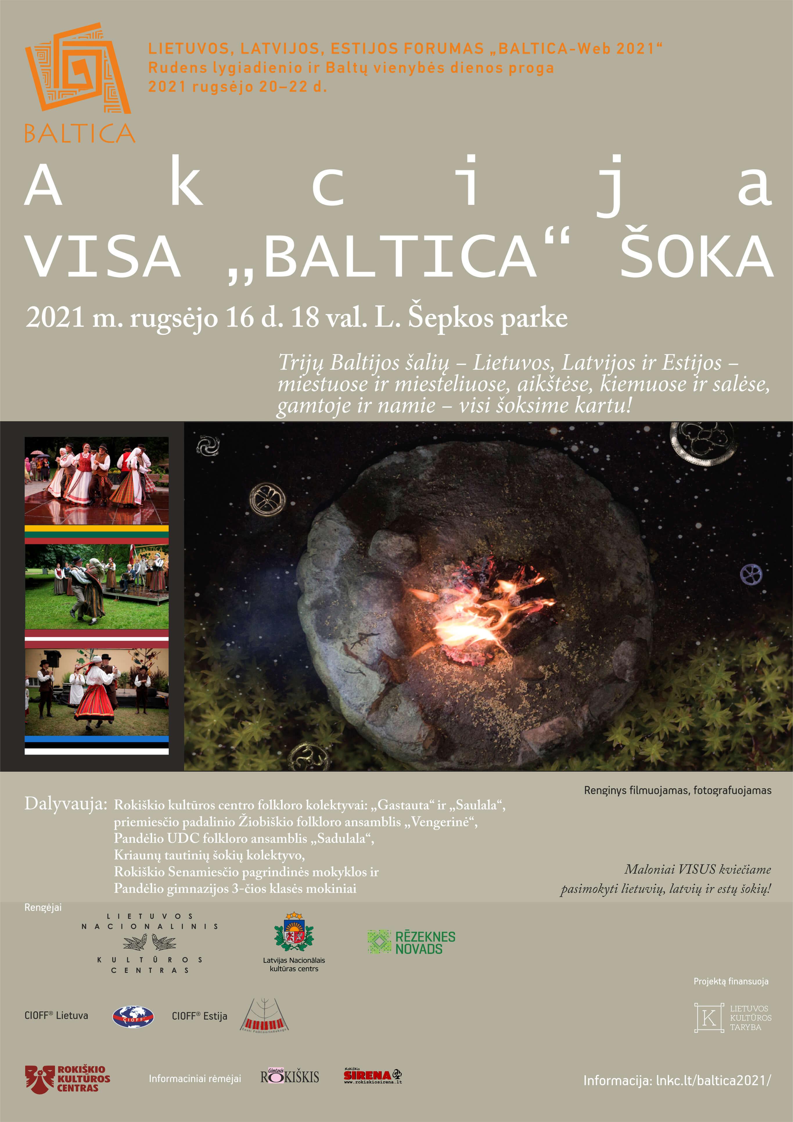"""Akcija Visa ,, Baltica"""" šoka"""